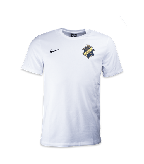 AIK Shop - Nike T-shirt vit sköld - Officiell souvenirbutik 497b6179ff976