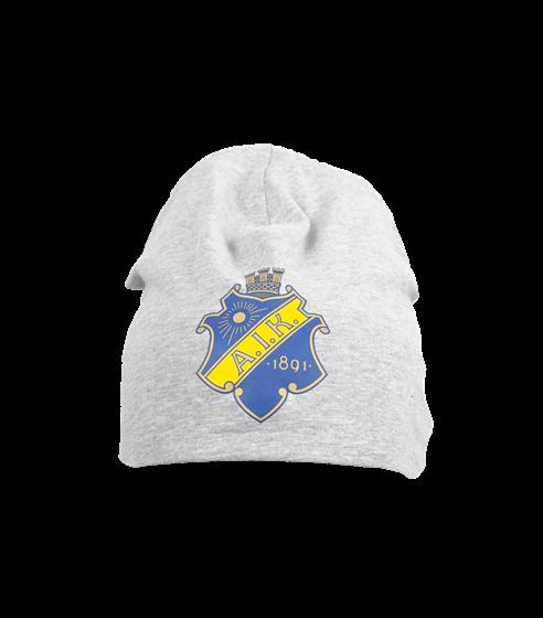 0aa80c707dbe AIK Shop - Mössa tunn grå sköld - Officiell souvenirbutik