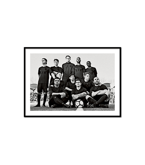 Poster Retro Team anno 1901
